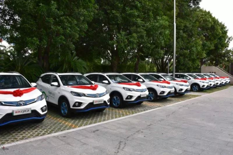 首个落户福建省商务厅的汽车是谁?那就是东南DX3 EV!